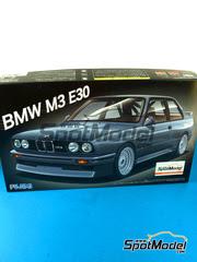 Fujimi: Maqueta de coche escala 1/24 - BMW M3 E30 - maqueta de plástico