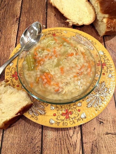 Old Fashioned Chicken and Stars Soup
