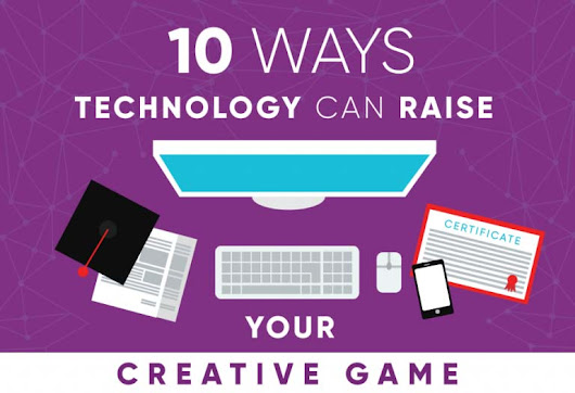 10 Ways Technology Can Raise Your Creative Game [Infographic]