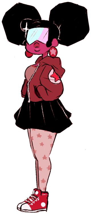 drew a cute garnet~