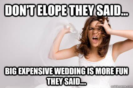 wedding stress memes | quickmeme
