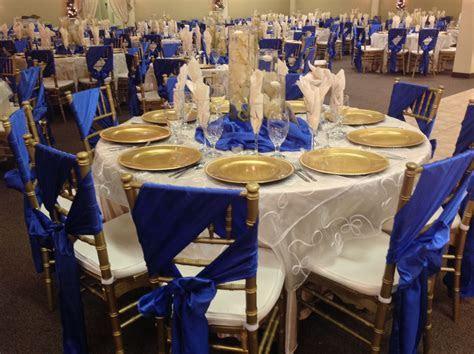 Image result for cobalt blue and gold wedding colors