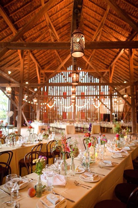 Riverside on the Potomace Barn Wedding Interior   Venues