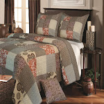 Greenland Home Stella Quilt & Sham Set, Twin, Full/Queen Or King - Twin Multi