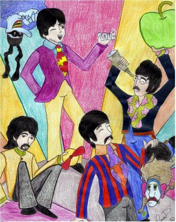 Lovely Beatles Artworks to Appreciate (22)