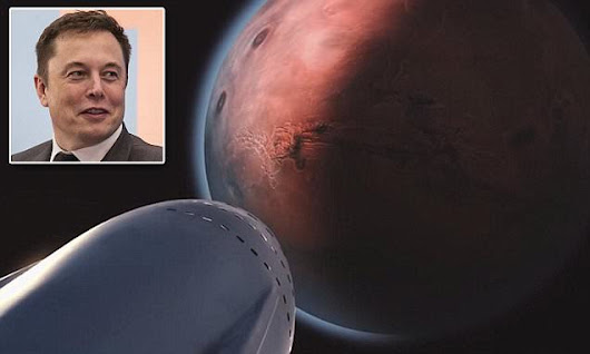 Elon Musk's rocket  to 'make humans a multiplanetary species'