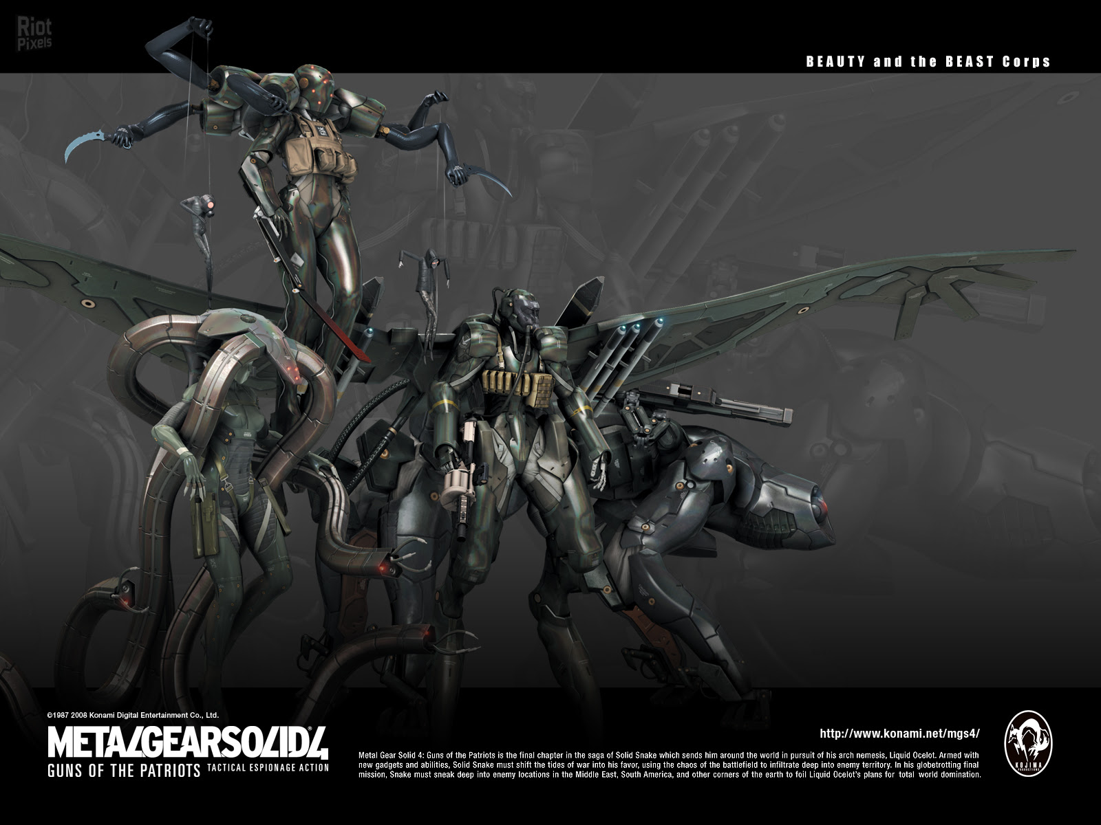 Metal Gear Solid 4 Guns Of The Patriots Game Wallpapers At Riot