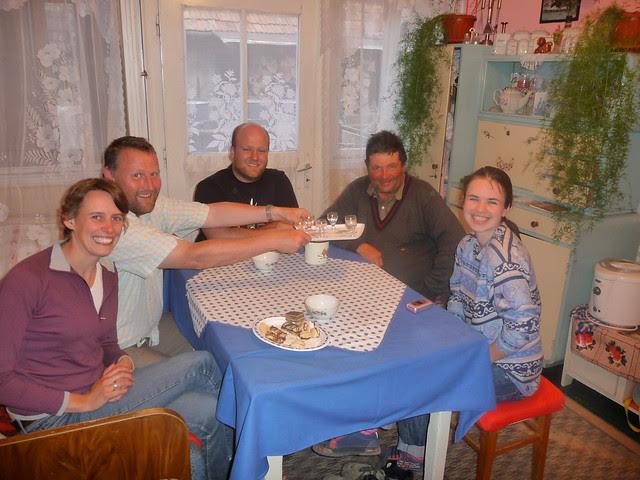 Jenny, Ollie, Dave, Pista & Laura