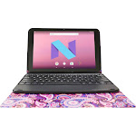 "Visual Land - Prestige Elite 10QD - 10.1"" - Tablet - 16GB - With Keyboard - Paisley"