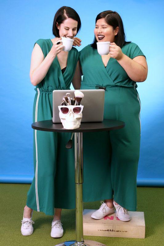 2 cô nàng béo và gầy này sẽ cùng mặc thử 1 mẫu trang phục để xem liệu ai sẽ mặc đẹp hơn - Ảnh 15.