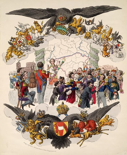 Congress of Vienna (H. Delius, 1815)