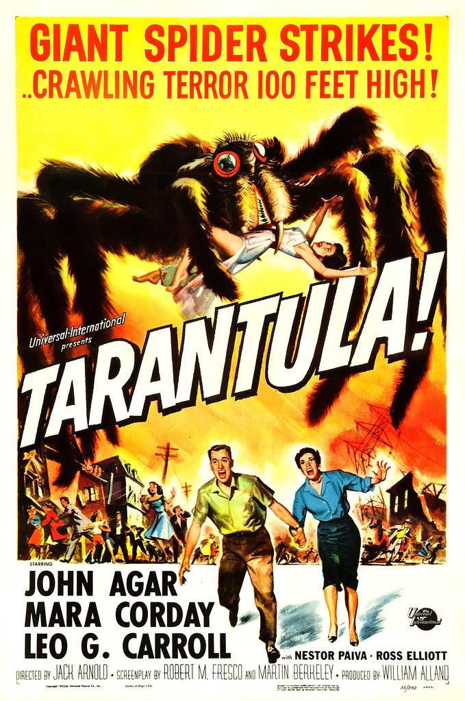 Reynold Brown - Tarantula (Universal International, 1955).