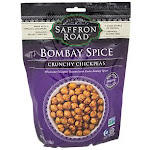 Saffron Road - Crunchy Chickpeas - Bombay Spice (6.0 oz.) - Dried Fruit