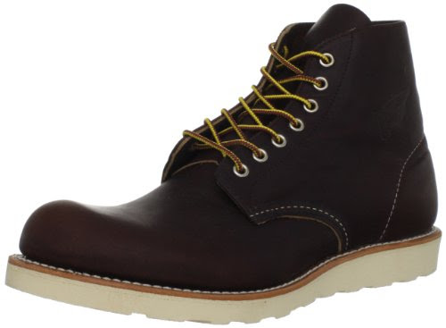 Red Wing Heritage 6 Inch Round Toe Boot,Briar Oil Slick,7.5 D US