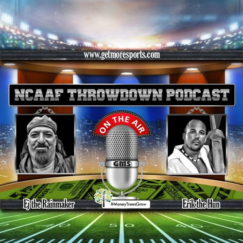 NCAAF Throwdown Podcast - Episode 14 by GetMoreSports