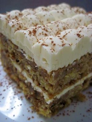 Rum Square Cake