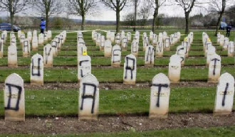 تدنيس المقابر الإسلامية ا