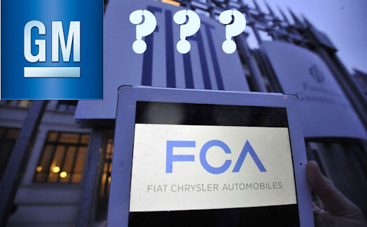 Could GM Soon Buy Out Fiat Chrysler??