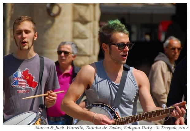Rumba de Bodas, music group Bologna, Italy - S. Deepak, 2012