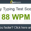 I can type 88 words per minute. Are you faster?