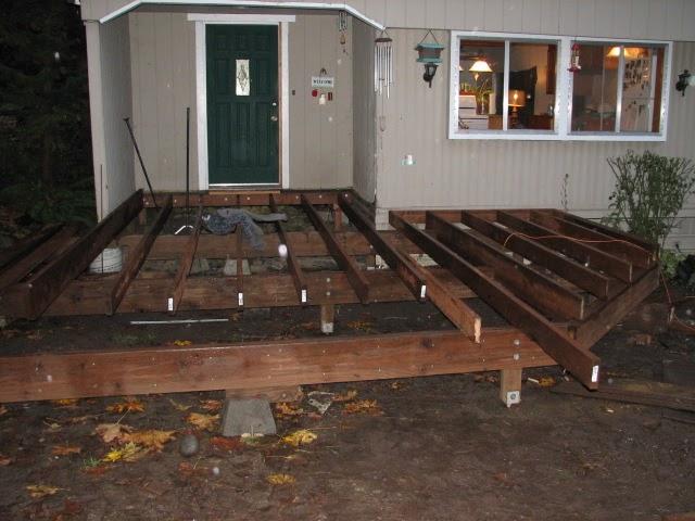 Here Build A Shed On Deck Blocks Lk Mickhael