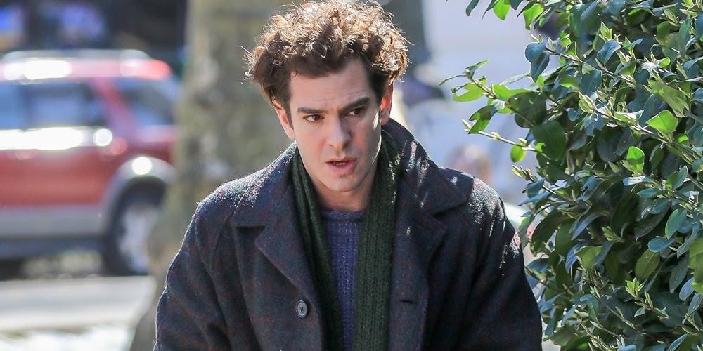 Andrew Garfield Rumored To Return As Spider Man In Into The Spiderverse Andrew Garfield Lin Manuel Miranda Just Jared
