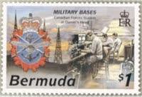 CFS Bermuda stamp