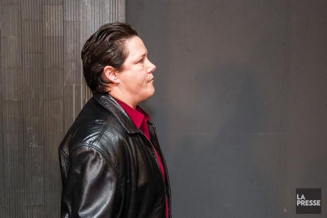 Stéfanie Trudeau à son arrivée en cour, jeudi.... (PHOTO HUGO-SEBASTIEN AUBERT, LA PRESSE)