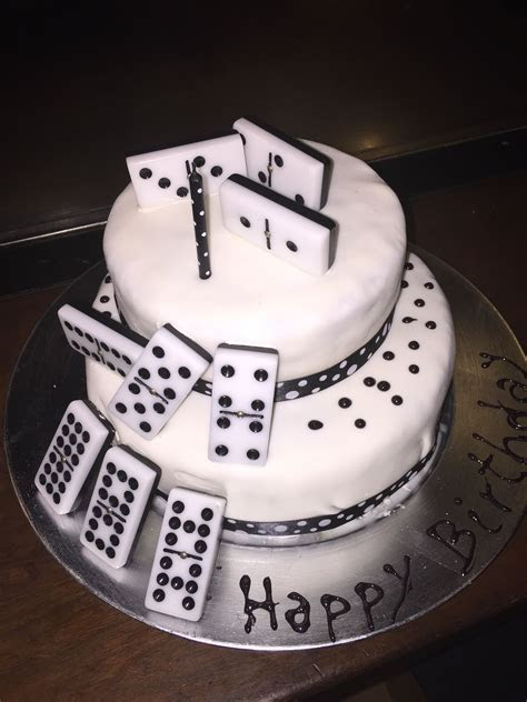 Dominos Cake   Cake   Pinterest   Cake, Birthday cakes and