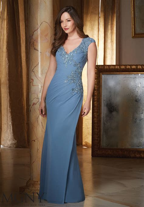 Chiffon Evening Dress   Style 71418   Morilee