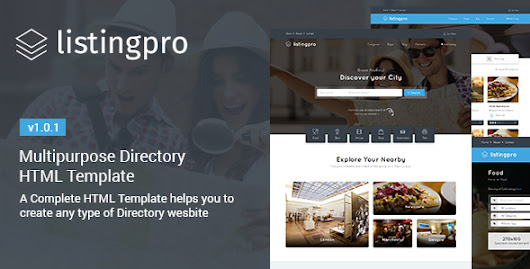 Download ListingPro - HTML Multipurpose Directory Template nulled | OXO-NULLED