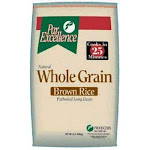 par Excellence, Whole Grain Parboiled Brown Rice, 25 lbs