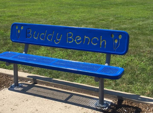 Oswego Rotary Installs 'Buddy Benches' at District 308 Schools | Only Oswego
