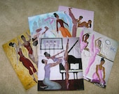 """GIFT PACK - 5 Large 16x20 Prints from """"Ballet Lessons"""" Series"""