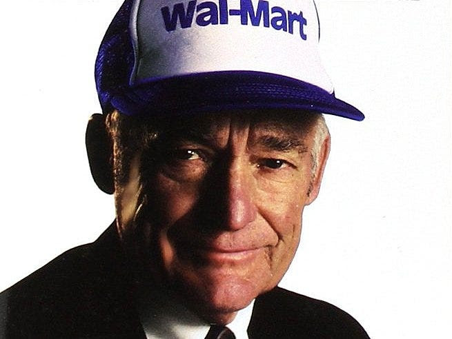 Sam Walton had a fairly successful retail-management career in his 20s and 30s, but his path to astronomical success began at age 44, when he founded the first Wal-Mart in Rogers, Arkansas, in 1962.