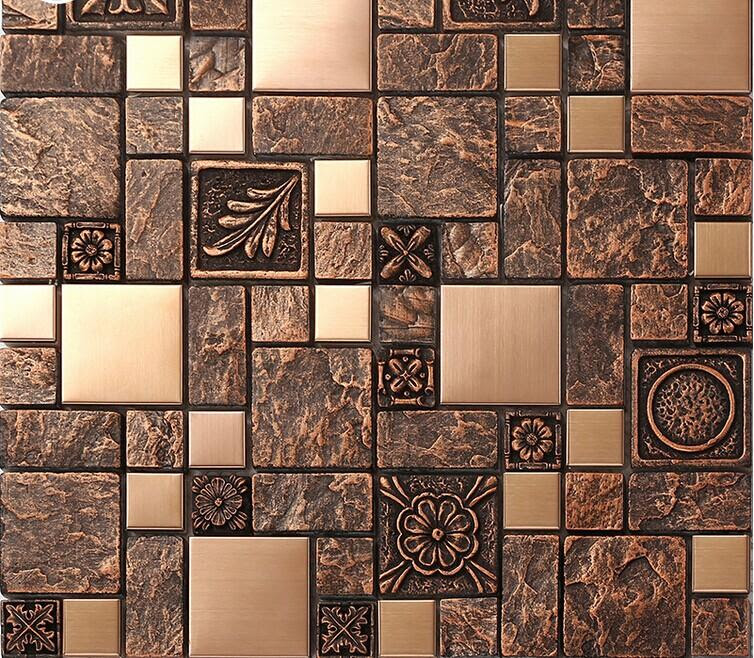 stainless steel backsplash kitchen ceramic floor tile B963 ...