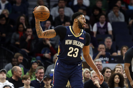 Anthony Davis out for 1-2 weeks with sprained finger