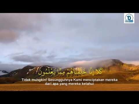 Video Murottal Tadabbur Surat Al-Ma'arij : 39-42
