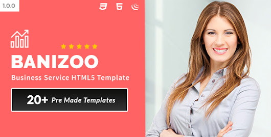 Banizoo - Business Service HTML5 Template