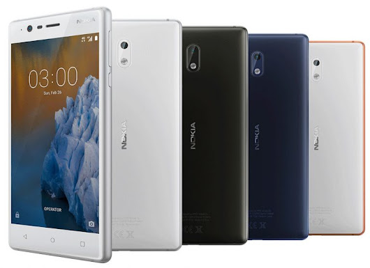Nokia 3 with 5-inch HD display, Android 7.0, 4G LTE launched at MWC 2017: Price, specs and more