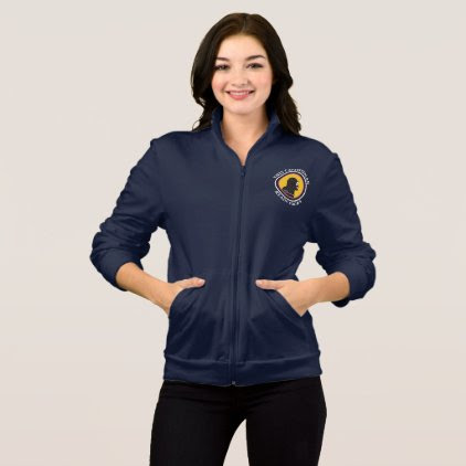 American Apparel Fleece Zip Jogger Smart Cavewoman Jacket