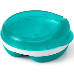 OXO Tot Divided Feeding Dish with Removable Ring - Teal