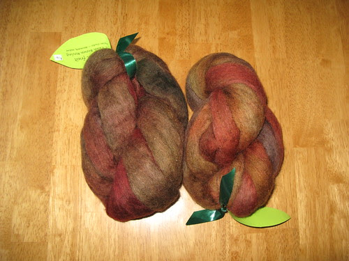 Fawn Brown Roving