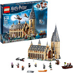 LEGO Harry Potter Hogwarts Great Hall Building Kit and Magic Castle Toy (New Open Box)