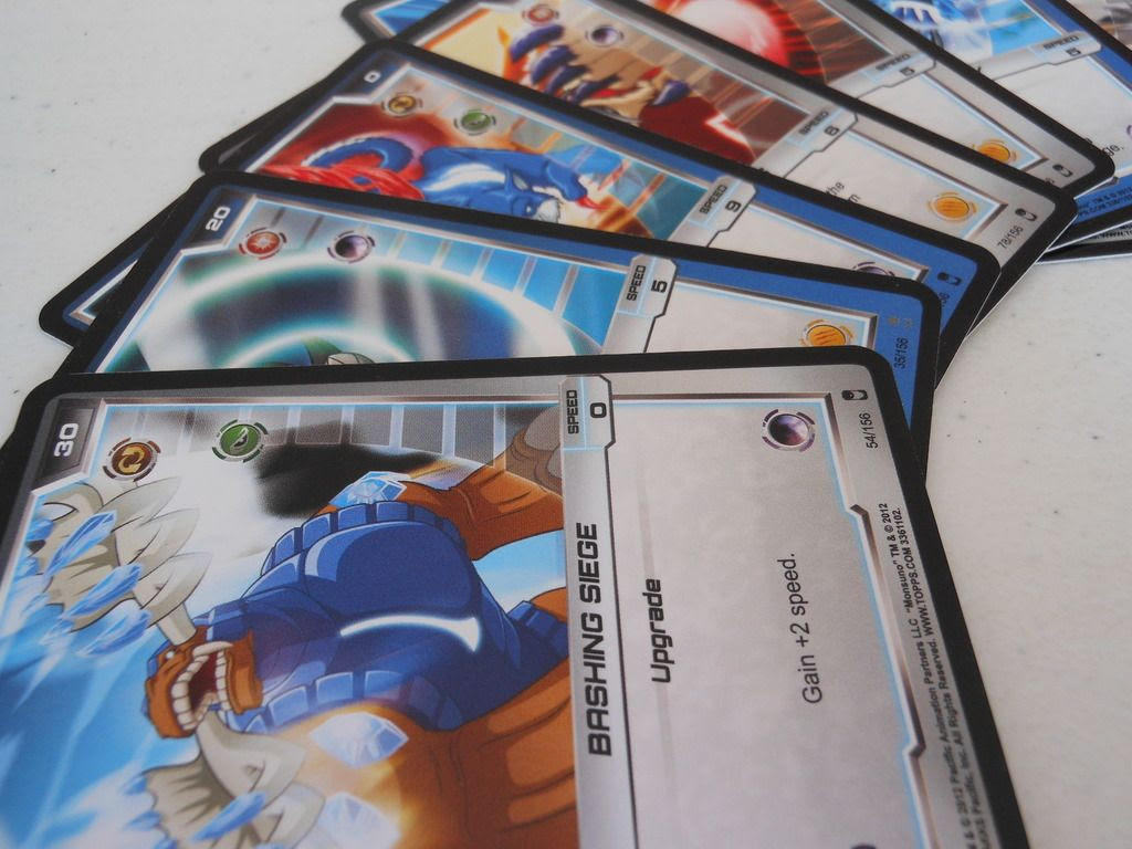 Monsuno strike cards