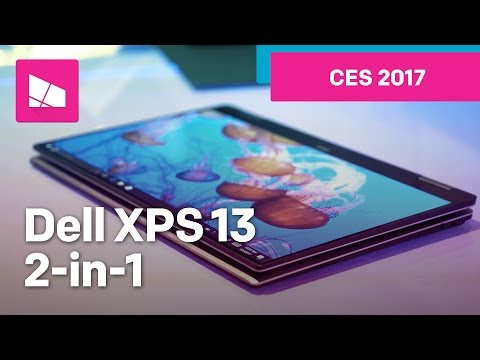 Dell XPS 13 2-in-1 Hands-On from CES 2017