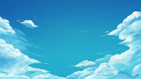 ciel bleu Très cool Papier peint   AllWallpaper.in #13659