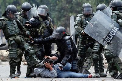Campesinos denuncian violencia y represión de la fuerza pública