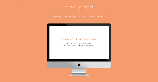 Amanda Schoedel Creative | WordPress Web Design and Development
