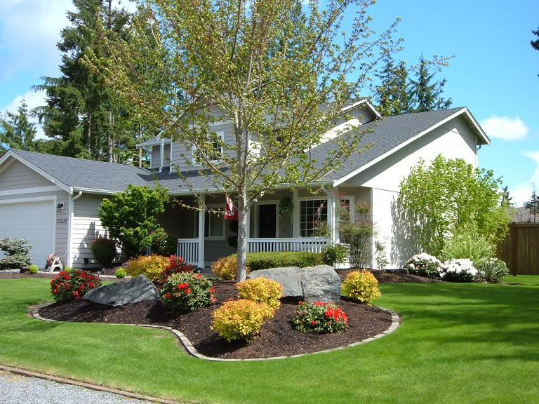 Small Front Yard Landscaping Make Home Landscaping